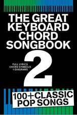 Great Keyboard Chord Songbook Play POP Hits Baby Bird BEYONCE Piano Music Book 2