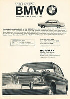 1964 BMW1800 1500 Finest Car Classic Advertisement Ad