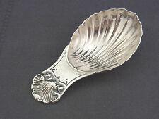 Hermosas pequeñas azúcar pala de plata 925/-