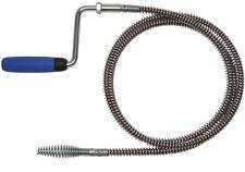 Rohrreinigungsspirale 16mm mit Kunststoffkurbel und T-Nut-Kupplung von ROWO®