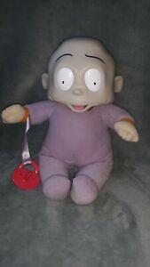 1998 Rugrats Baby Dil Pickles Doll Nickelodeon Plush Works vintage vtg