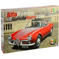 Italeri 3653 Alfa Romeo Giulietta Spider 1300 Car Model Kit (Scale 1:24)