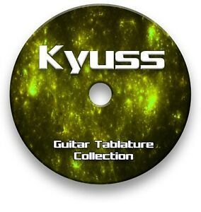 Kyuss Rock Tabs Tablature Lesson Software CD - Guitar Pro