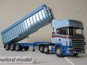 Corgi CC12921 J G McWilliam Ltd Scania topline bulk tipper (new)