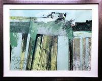 Louis BUSMAN 1944-2014 Brandenburger Tor Berlin 1977 Gemälde Ausstellung