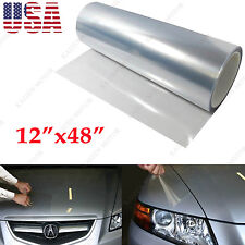 "12""x48"" Clear Invisible Car Bumper Hood Paint Protection Film Vinyl Decal Wrap"