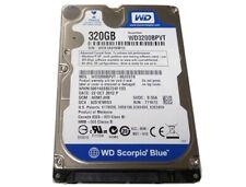 "NEW SEALED SCORPIO BLUE WD3200BPVT 320GB 5400RPM 6.35 cm 2.5"" 8MB HDD  YELL 2"
