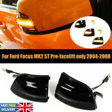 2X For Ford Focus MK2 ST ONLY 04-08 LED Indicator Side Mirror Sequential Light