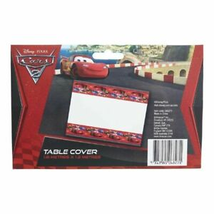 DISNEY PIXAR CARS TABLE COVER TABLECLOTH PARTY SUPPLIES