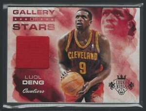 2013-14 Court Kings Gallery Of Stars Jerseys Luol Deng Jersey 1 Color 40/325 #1