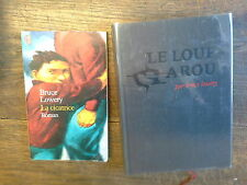 Lot de 2 livres de Bruce Lowery La cicatrice Le loup Garou