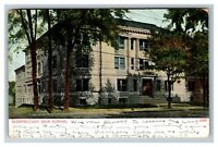 Vintage View of Schenectady NY High School Building c1906 Postcard K15