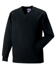 Polycotton V Neck Plain Sweatshirts for Men