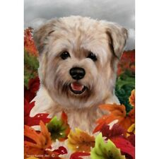 Fall House Flag - Wheaten Glen of Imaal Terrier 13215