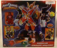 "Power Rangers Ninja Storm Hurricane Command Megazord 15"" Bandai 2003"