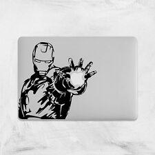 Iron Man Decal for Macbook Pro Sticker Vinyl laptop 2 3 air funny mac 13 15 17