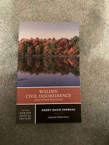 Walden Civil Disobedience And Other Writings By Henry David Thoreau