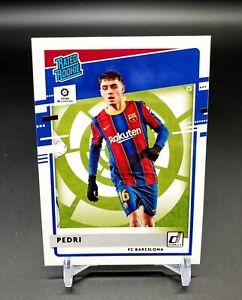 2020-21 Panini Chronicles Pedri Rated Rookie #8 FC Barcelona Donruss