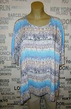 Vincenzo Allocca: modisches Tunika Shirt A-Linie EG 44 - 56 anstatt 69,90 €