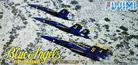 "Fujimi F45 F/A-18 HORNET ""Blue Angels"" 1/72 Scale Kit"