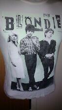 Official Blondie / Debbie Harry T-shirt Short Sleeve 80s Punk Music Small Womens