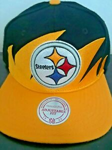 Pittsburgh Steelers Brand New snapback cap by Mitchell and Ness