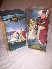 NEW Disney Store Limited Edition Fairytale Designer Alice & Queen of Hearts Doll
