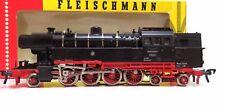 Locomotiva BR 65 014 DB testo leggere Fleischmann 1324 OVP AC CORRENTE ALTERNATA (FH)
