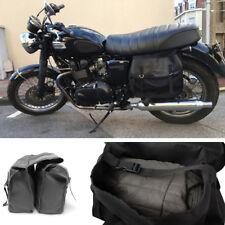Motorcycle Bike Bicycle Bag Tail Saddle Bags Rear Back Seat Storage Pack Luggage