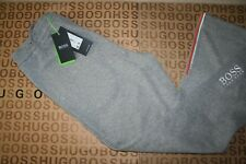 NEW HUGO BOSS MENS ATHLEISURE GREY SPORTS TRACKSUIT BOTTOMS PANTS JOGGERS LARGE