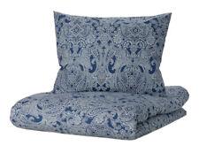 IKEA JÄTTEVALLMO Bettwäsche Set 2/3-tlg Bettwaren Blau Baumwolle 150x200 200x200