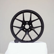 NEW 4 PCS ROTA WHEEL KB 18X9.5  5X108 38 73  FLAT BLACK FORD FIESTA FOCUS
