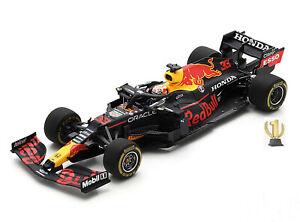 1:43 Spark S7666 Red Bull RB16B, winner Emilia Romagna GP 2021, Verstappen #33
