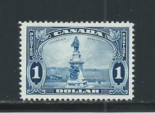 CANADA KING GEORGE V PICTORIAL ISSUE $1 CHAMPLAIN STATUE # 227 GREAT DEAL