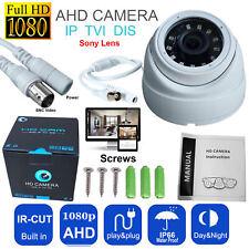 Sony 2.4MP CCTV Dome Camera HD 1080P 3.6mm 20m IR 4 in 1 TVI AHD CVI Analogue UK