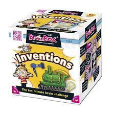 BrainBox - Inventions Board Game Card Play Family Kids Games