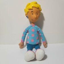 "Nickelodeon Doug Patti Mayonaise Plush Doll Arcotoys Mattel Cartoon 19"" Blonde"