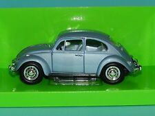 Road Signature 1/24 1967 Volkswagen Beetle Blue  MIB