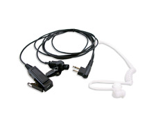 2 Pin Surveillance MIC Earpiece Headset For Motorola CP200 PR400 CLS HYT Radio