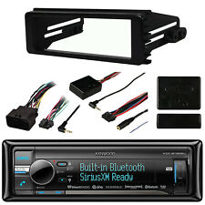 Kenwood Bluetooth iPod In Radio,98-2013 Harley Install Dash Kit& Install Adapter