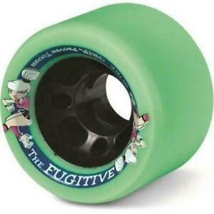 Suregrip Fugitive Wheels 62mm 92a 8Pack Derby Indoor Roller Skate FREE POSTAGE