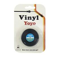 Vinyl Yoyo Classic Retro Style Toy Children Kids Fun Gift