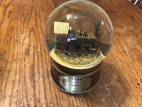 Snow Globe San Francisco Music Box Company Steam Locomotive Melody Express