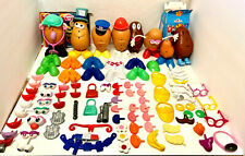 Potato Head Lot - 110 Pcs Including Bodies & Accessories - Used