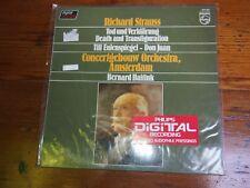 Strauss-Death & Transfiguration-Haitink-Philips 6514 228 LP Sealed Audiophile