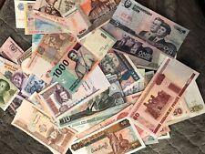 10 different Latin America paper money circ.-Unc.