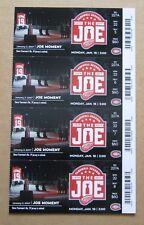Red Wings Steve Yzerman #19 retired Last Season at JLA Season Tickets Sheet Orig