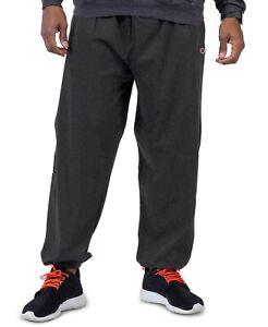Champion Big & Tall Men's Fleece Sweatpants Charcoal Heather - 4XLT