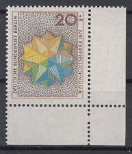20+10 pf navidad 1973 im 463 forma número 0a+r11s3 wohlfahrtszähnung lujo!