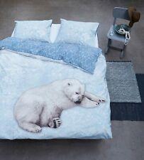 Linens Factory Winter Collection Duvet Cover Set Blue Polar Bear Theme